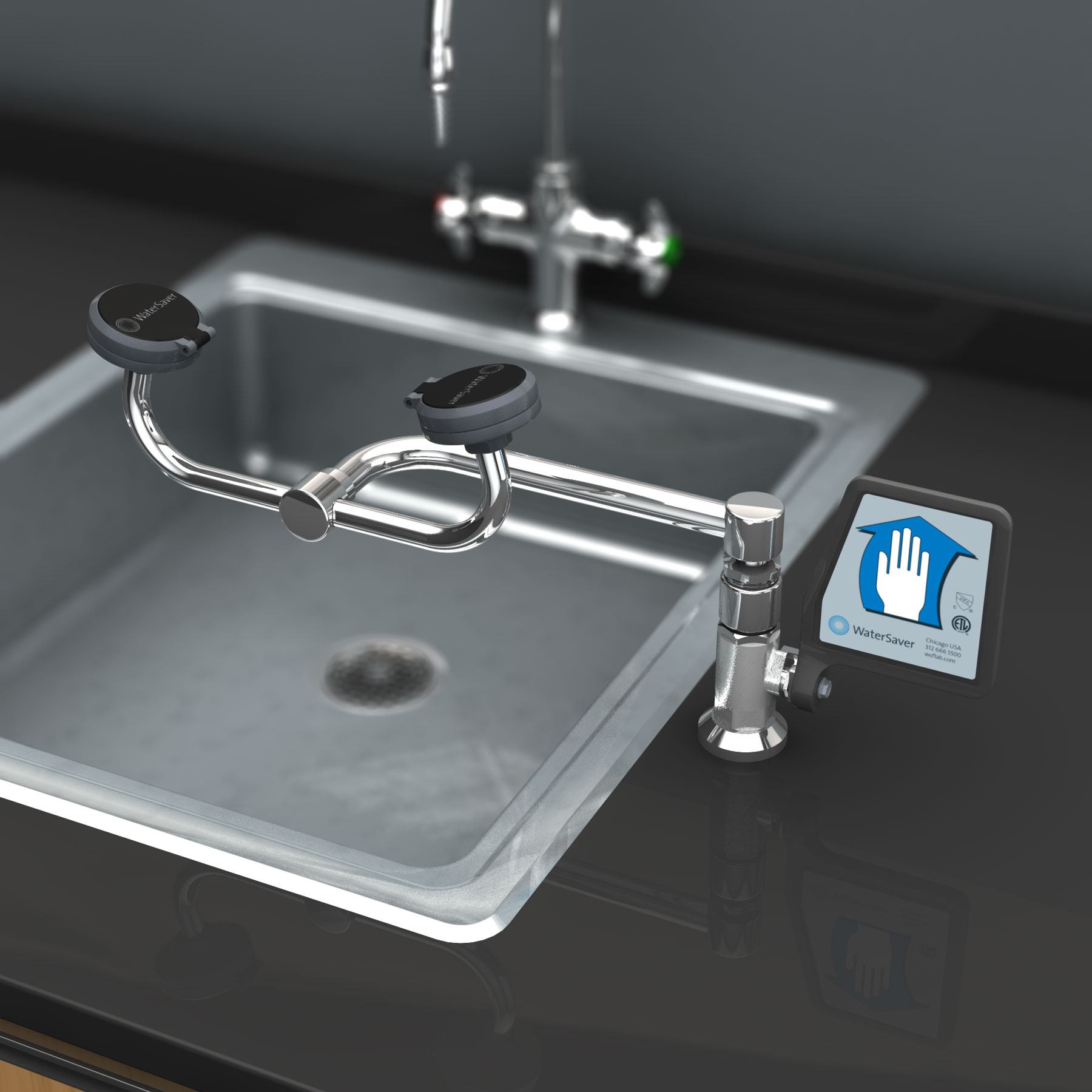 FE775 – WaterSaver Faucet Co.