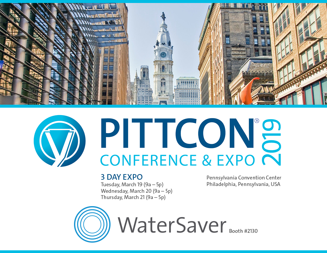 WaterSaver Faucet at PITTCON 2019
